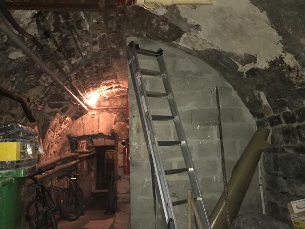 Renfort de cave immeuble Paris