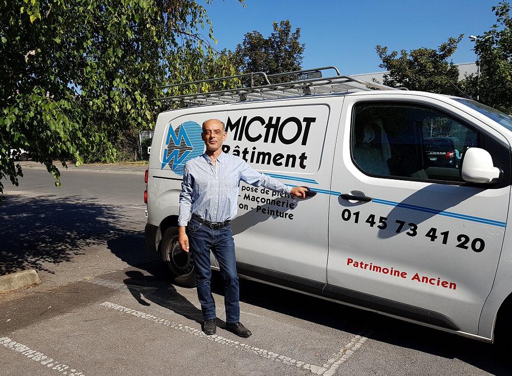 Vincent Michot directeur Michot Batiment